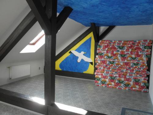 Ložnice - klubovna podkroví